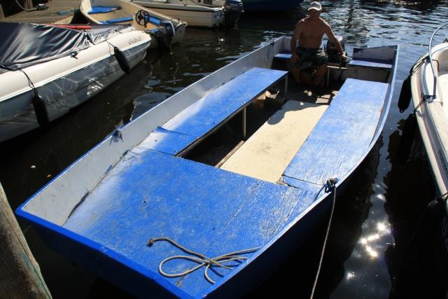 Grote motorboot