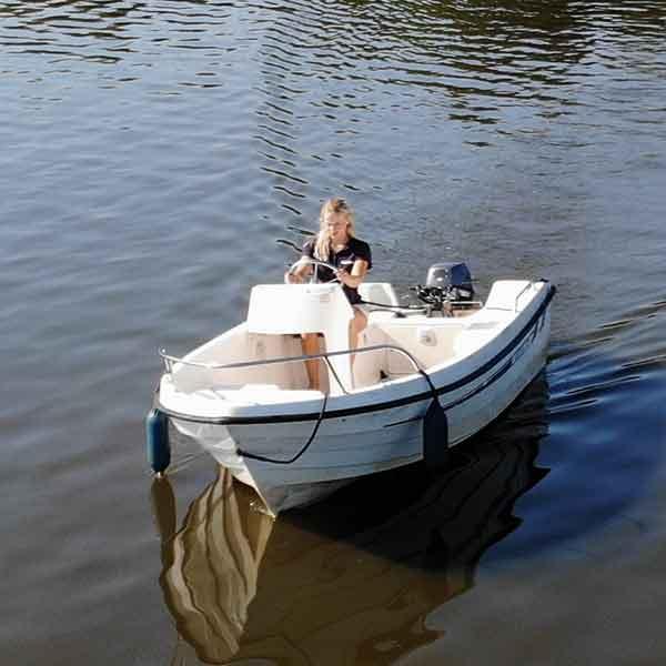 Motorboot standaard