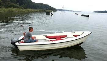 Open motorboot