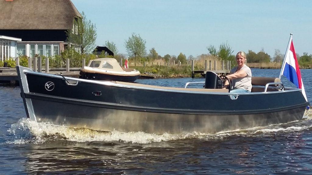 E-Sloep 550 luxe