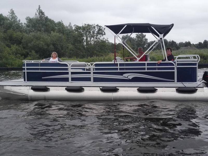Pontonboot Blue