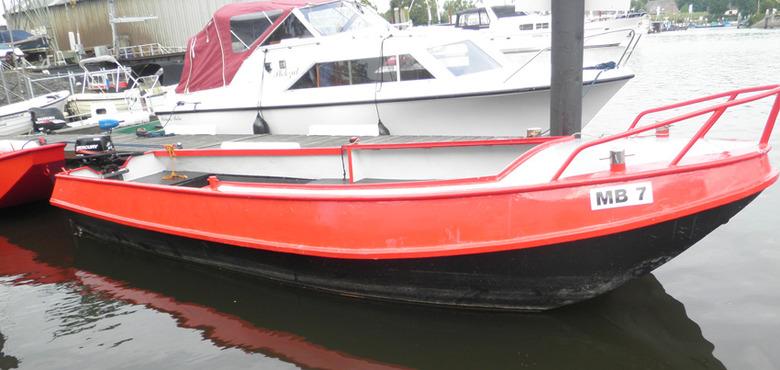 Grote Biesbosch boot