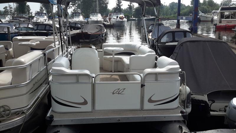 Pontonboot Gillgetter