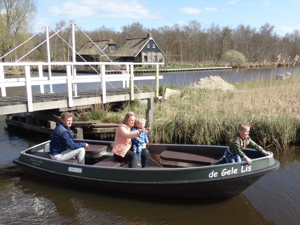 Fluisterboot de luxe
