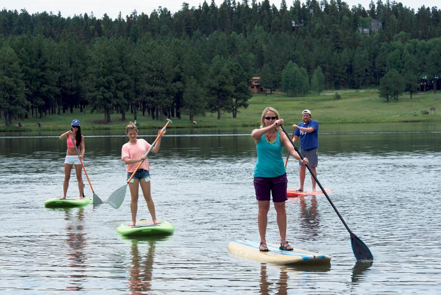 SUP Boarden, een rage op het water