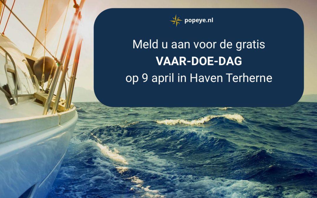 Maak kennis met varen op de vaar-doe-dag van Popeye.nl