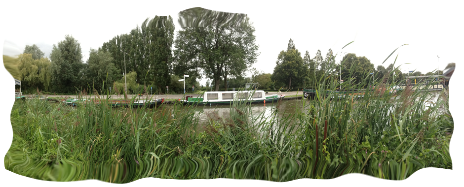 Rondvaart overdekte boot