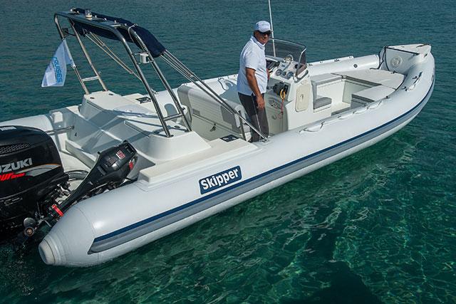 Skipper 7.80 Ice White