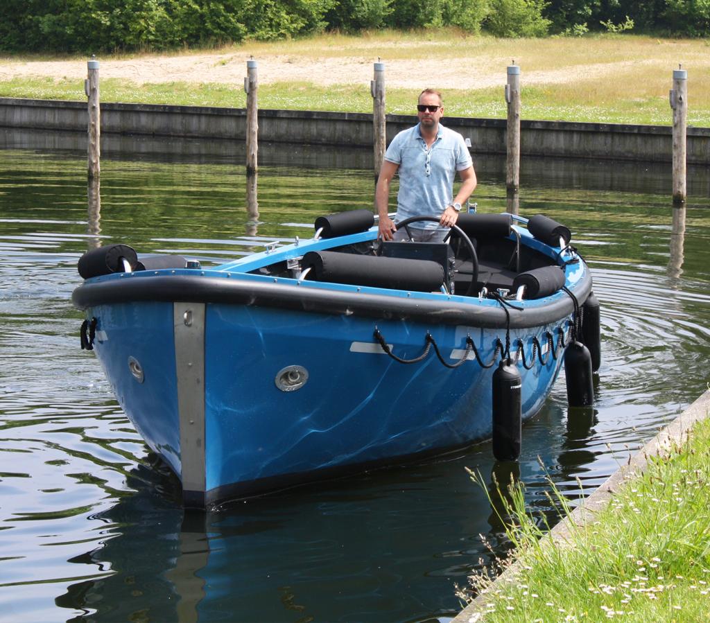 Stormer Lifeboat blauw